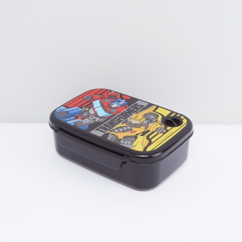 Transformers Printed Lunch Box with Clip Lock