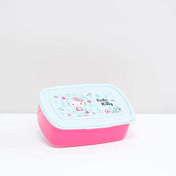 Hello Kitty Printed Lunchbox with Lid