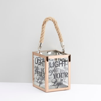 Printed Lantern with Handle - 11 cms