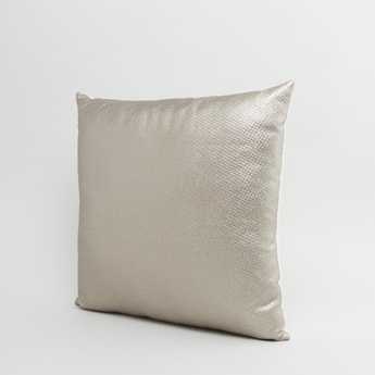 Textured Square Filled Cushion