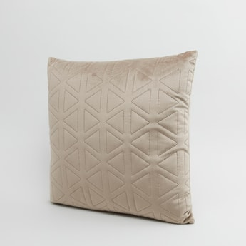 Perforated Square Filled Cushion