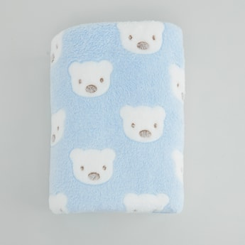 Printed Fleece Blanket - 100x75 cms