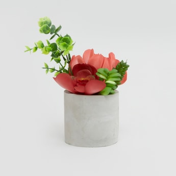 Artificial Plant with Pot - 16 cms