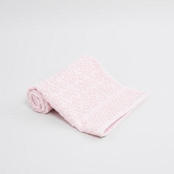Patterned Bath Towel - 80x50 cms