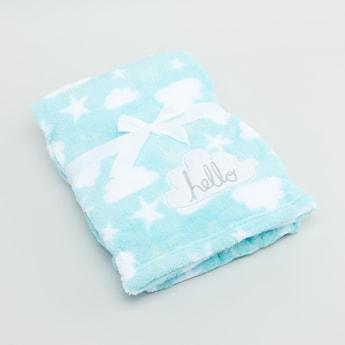 Printed Rectangular Blanket - 100x75 cms