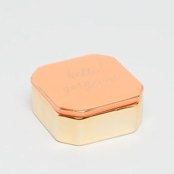 صندوق زينة ميتاليك بغطاء