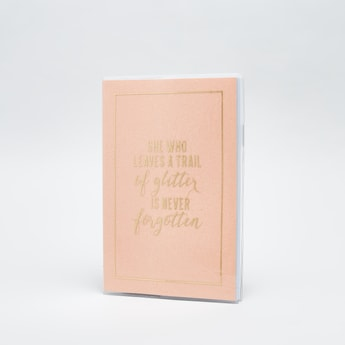 Printed Single Ruled Notebook