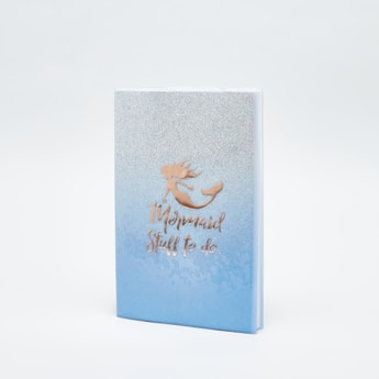 Applique Detail Single Ruled Notebook