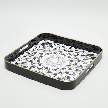 Printed Square Serving Tray