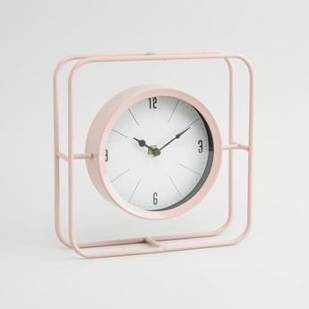 ساعة طاولة معدنية - 6 سم