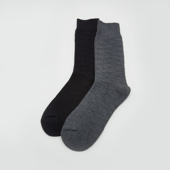 Set of 2 - Crew Length Socks
