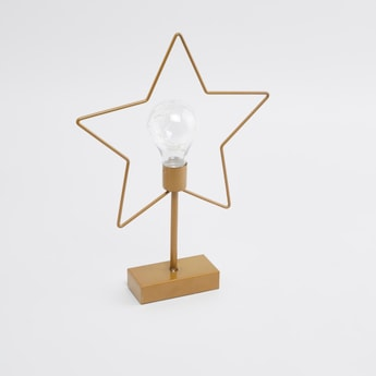Star Shaped Decorative Light - 6 cms