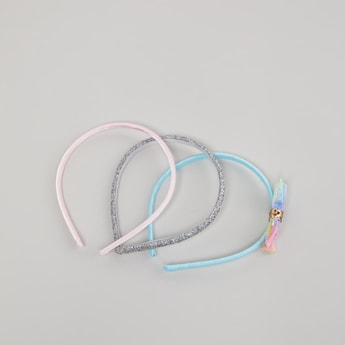 Set of 3 - Hairband with Glitter Detail