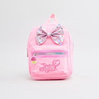 Jojo Siwa Printed Backpack with Adjustable Shoulder Straps