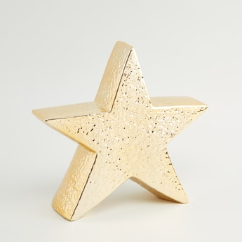 Textured Star Decor - 7 cms