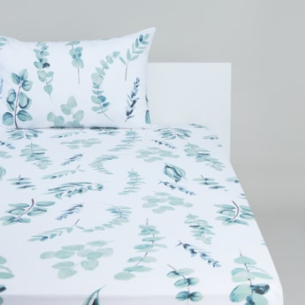 Printed Fitted Sheet - 90 x 200 cms