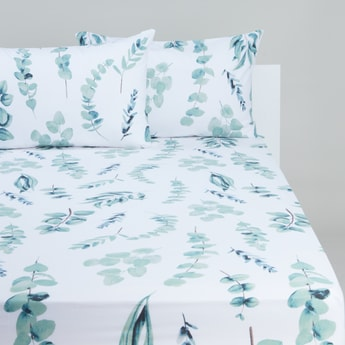 Printed Fitted Sheet - 150 x 200 cms