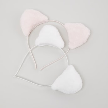 Set of 2 - Hairband with Ears
