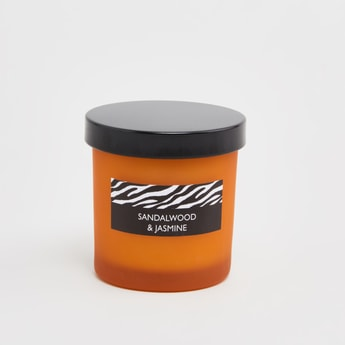 Sandalwood and Jasmine Scented Jar Candle