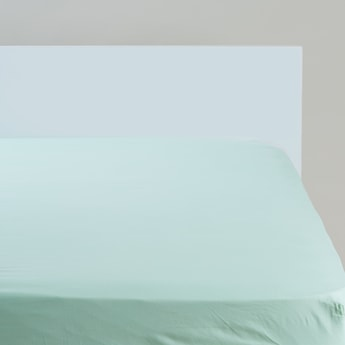 Solid Fitted Sheet - 200x180 cms