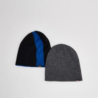 قبعات متنوعة- طقم من قطعتين