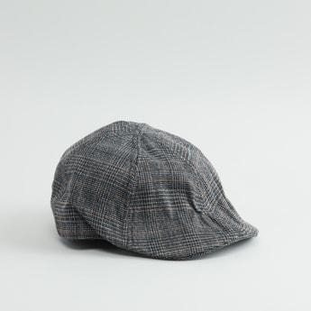 Chequered Flat Cap