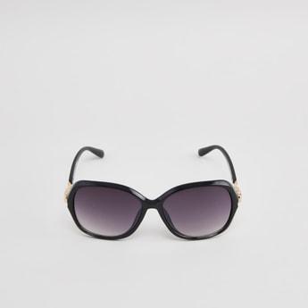 Embellished Full Rim Sunglasses