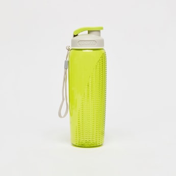 Textured Water Bottle with Flip Cap