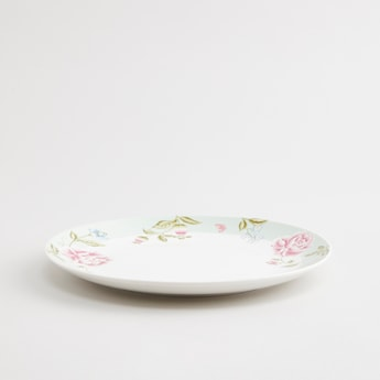 Floral Printed Plate - 8 cms