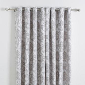 Printed 2-Piece Curtain Set - 240x140 cms