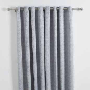 Printed 2-Piece Curtain Set - 240x140 cms