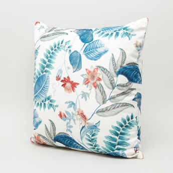 Tropical Print Filled Cushion