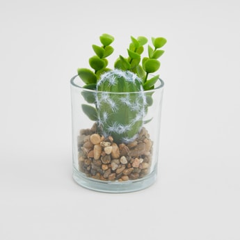 Artificial Potted Plant - 13x7 cms