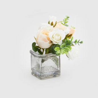 Decorative Pot with Artificial Flowers