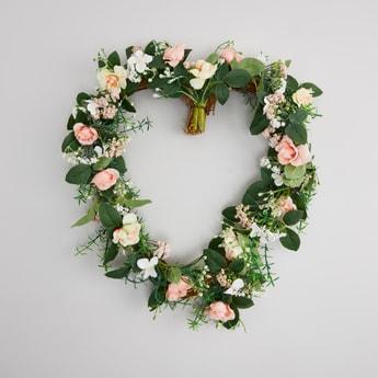 Heart Shaped Artificial Decorative Flower