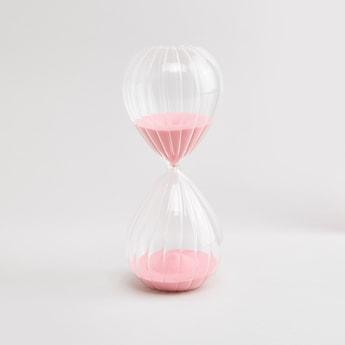 Hour Glass Styled Decor Showpiece