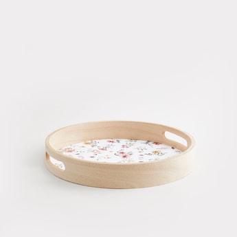 Printed Circular Serving Tray