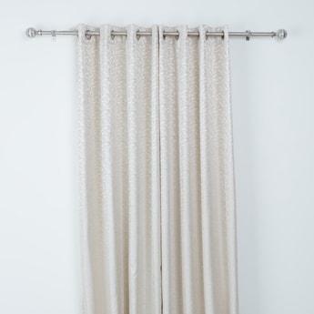 Printed 2-Piece Curtain Set - 240x135 cms