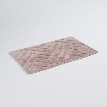 سجادة حمّام بارزة الملمس - 80x50 سم