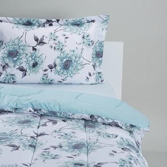 Floral Printed 2-Piece Comforter Set - 220 x 160 cms