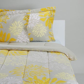 Printed 3-Piece King Comforter Set - 230 x 220 cms