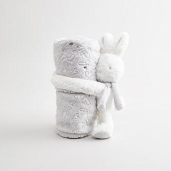 بطانية رضّع بطبعات - 100x75 سم
