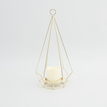 Decorative Candle Holder - 20x17x38 cms
