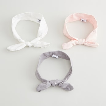 Set of 3 - Assorted Headbands with Bow Detail
