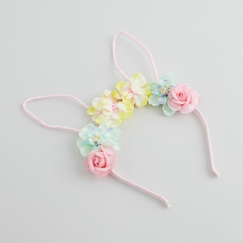 Floral Applique Detail Hair Band