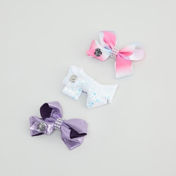 Set of 3 - Bow Hair Clip