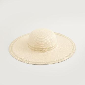 قبعة منسوجة