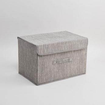 صندوق تخزين بارز الملمس بغطاء