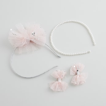 Assorted 4-Piece Hair Accessory Set