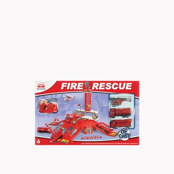 Fire Rescue Playset